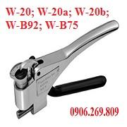 Kìm đo độ cứng thép W-B92 (Thép mềm)